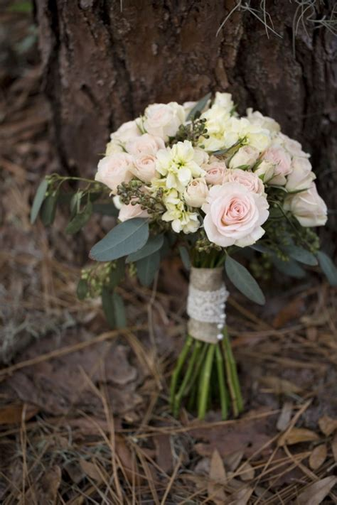 pink rustic elegant wedding inspiration bride bouquets