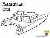 Coloring Boat Catamaran Pages Yacht Ferry Boats Ship Drawing Sailing Colouring Ships Yescoloring Sheets Superb Getdrawings Boys sketch template