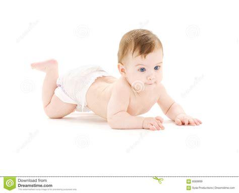 Crawling Baby Boy Royalty Free Stock Images Image 6069899