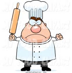 Angry Chef Clip Art