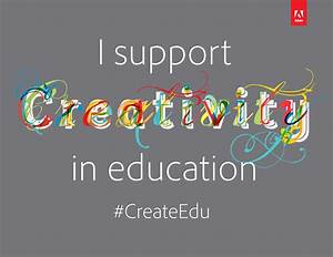 Creativity Pledge Template | Adobe Education Exchange
