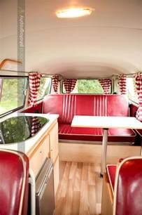 1974 VW Camper Van Interior