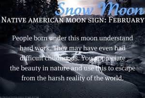 Native American Moon Sign