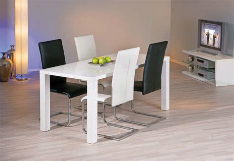 chaises design salle à manger chaise de salle à manger design coloris noir lot de 2