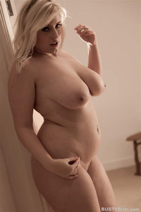 Raphaella Lily Nude Doorway For Busty Brits Curvy Erotic