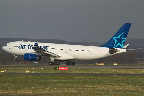 c gits air transat airbus a330 200 at glasgow photo id 1340 airplane pictures net