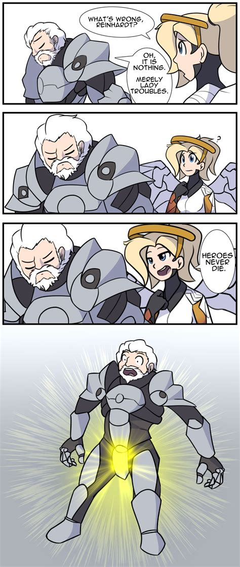 Overwatch Comic My Ultimate Is Ready! By Furrgroup On