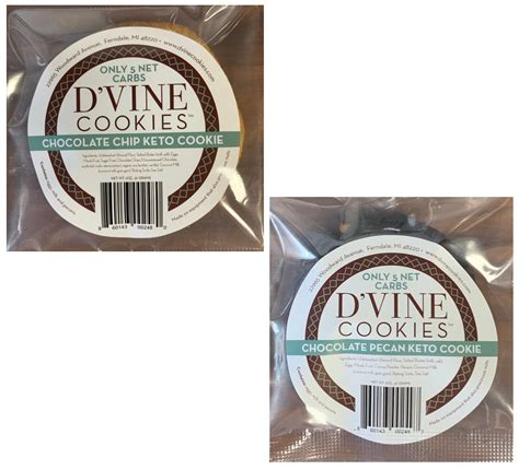 Refined (white) flour and added sugar. D'vine Cookies Keto Variety Box - Savorfull