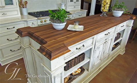 orleans kitchen island with wood top walnut wood countertop kitchen island new orleans louisiana 9020