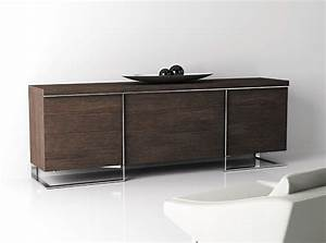 Meuble Tv Buffet : meuble tv buffet design maison design ~ Teatrodelosmanantiales.com Idées de Décoration