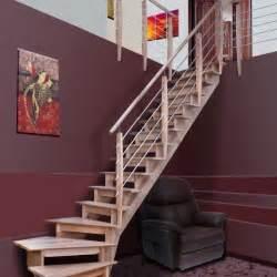 Escalier Quart Tournant Gauche Pas Cher by Port Louis 1 4 Tournant Gauche Achat Vente Escalier