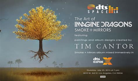 """""""the Art Of Imagine Dragons"""" At Dts Space La"""