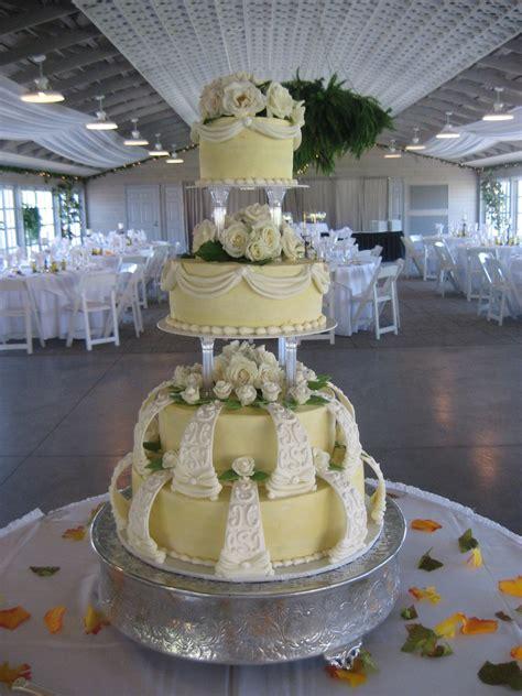 wilton style wedding cake cakecentralcom