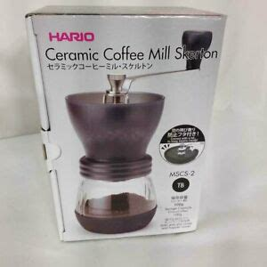This process provides a more consistent grind that can easily be adjusted and set for repeat. HARIO CERAMIC COFFEE MILL SKERTON PLUS (MSCS-2) | eBay