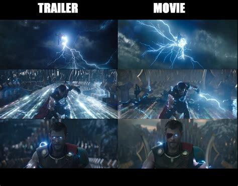 cgi comparison   trailer    thor