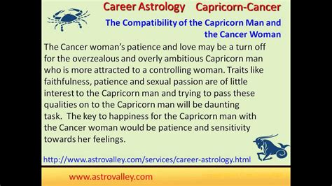 is capricorn compatible with cancer capricorn and cancer marriage