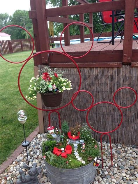 mickey mouse garden decor creative outdoor ideas page 10 of 31 smart school house