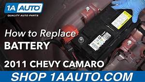 How To Change Battery 10-15 Chevy Camaro