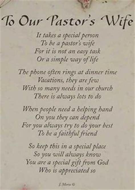 pastors wife  poem   work