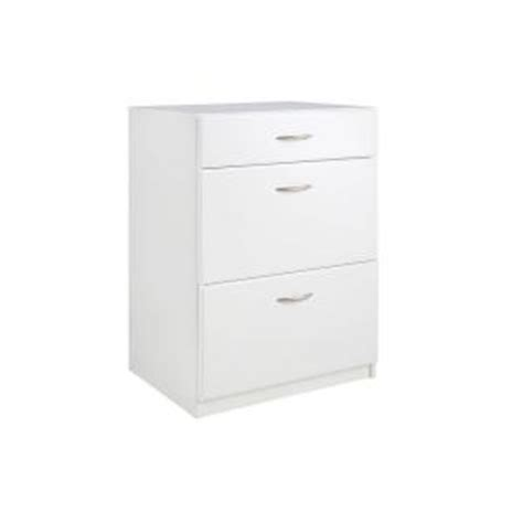 Closetmaid Cabinets White - closetmaid dimensions 3 drawer laminate base cabinet in