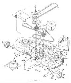 mtd 13bt696h190 lt 185 1999 parts diagram for 46 inch