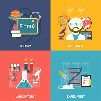 Science Vector Icon Theory Decorative Illustration Icons