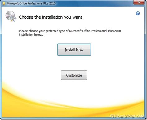 how to install a how to install office 2010