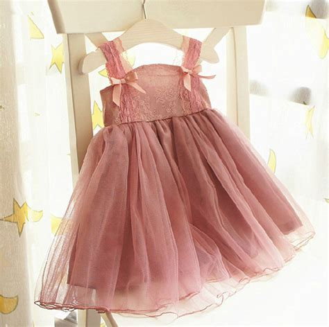 2015 Vintage Shabby Chic Girls Fashion Cute Rustic Country Flower Children dress Infant Toddler ...