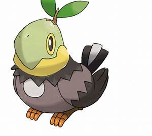 turtwig starly pokemon fusion by SarcasmInc on DeviantArt
