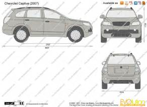 Chevrolet Captiva Dimensions
