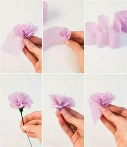 Comment Faire Des Roses En Papier : comment cr er une fleur en papier cr pon astuces et photos fleurs en papiers ~ Melissatoandfro.com Idées de Décoration