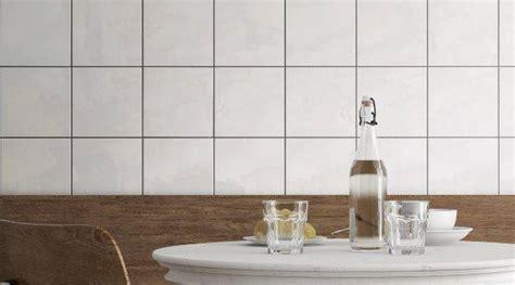 carrelage mur carre blanc  couleurs brillant    cm