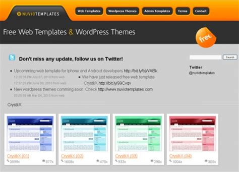 best website templates free top 20 to free website templates creativefan