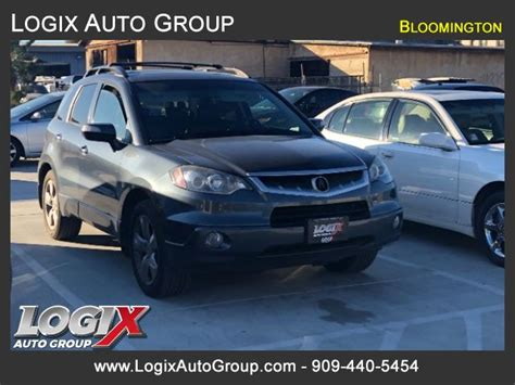 2007 Acura Rdx Technology Package by 2007 Acura Rdx 5 Spd At With Technology Package San