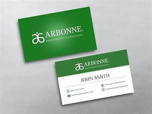 Arbonne business cards free shipping for Mlm business cards