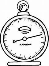 Tools Weather Measuring Barometer Drawing Pressure Air Non Getdrawings Licensed Commercial Measures sketch template