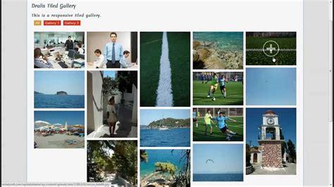 tutorial  dralis tiled gallery plugin  wordpress