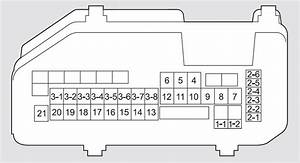 Honda Crosstour  2011 - 2012  - Fuse Box Diagram