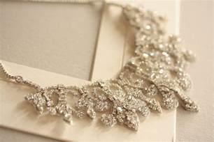 wedding ring necklace vintage inspired bridal necklace statement wedding jewelry onewed