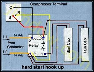 Hard Start Capacitor Wiring Diagram