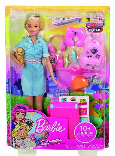 barbie vamos de viaje  ilutoys