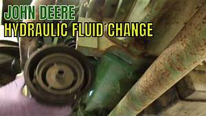 Hydraulic Fluid Change On The Tractor And Problems Pt1