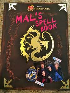 Descendants From Mal Spells Book