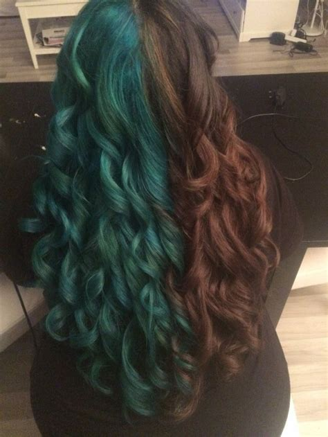 139 Best Images About Half And Half Hair On Pinterest