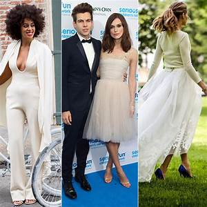 Celebrity Wedding Dresses Non Traditional And Unusual