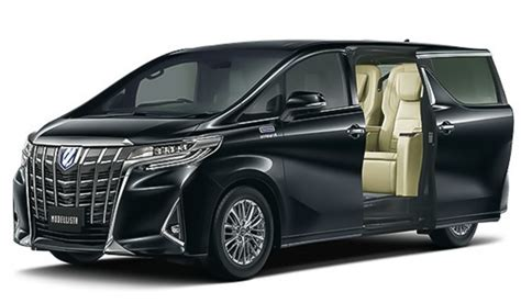 Toyota Vellfire Hd Picture by Modellista Has Made A 4 Seater Toyota Alphard Vellfire
