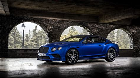 bentley supersports bentley continental supersports 2017 wallpapers hd