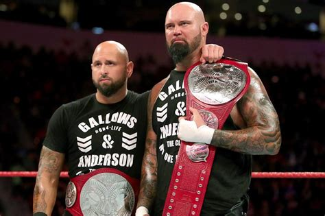 gallows  anderson  defend title  wwe wrestlemania