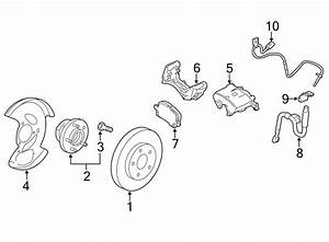 Chevrolet Equinox Abs Wheel Speed Sensor  Front