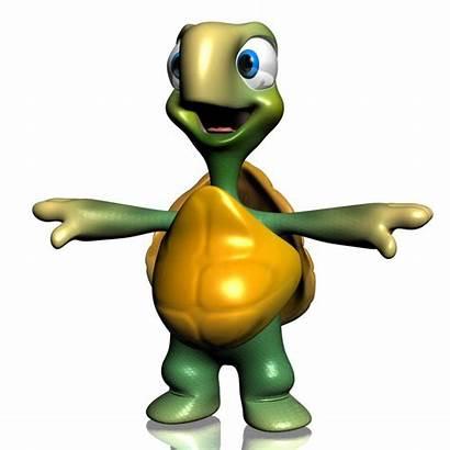 Turtle Cartoon 3d Rigged Turtles Models Max